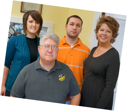 Staff at Dogwood Graphics, South Hill, VA